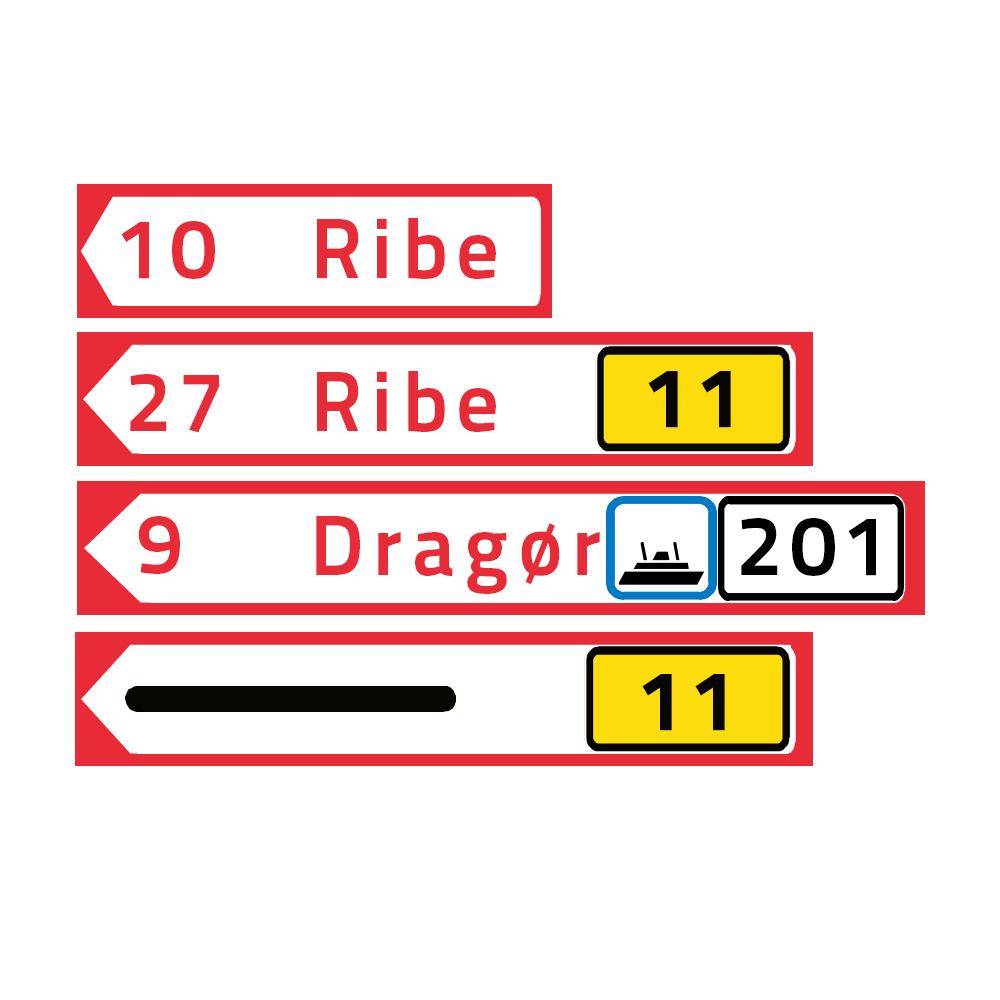 vejskilte forklaring